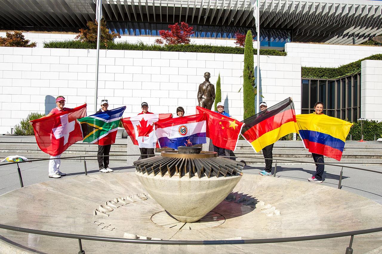 IJGA Alumnae Meet IOC President