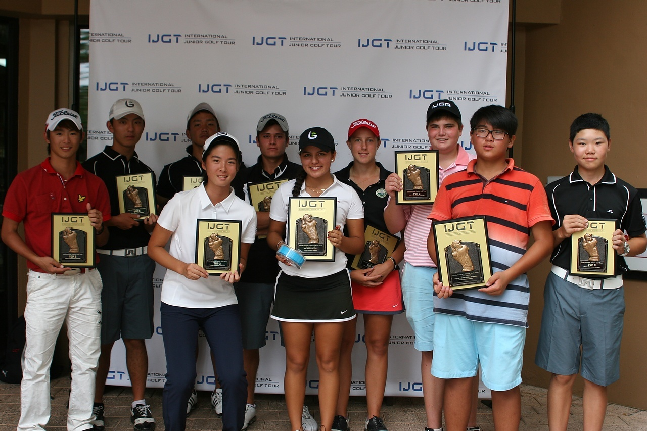 IJGT Florida Junior Winners