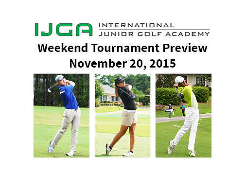 Weekend Tournament Preview November 20