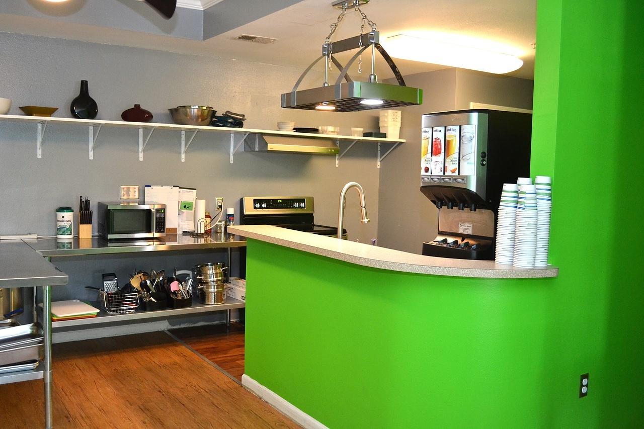 Village Cafe Kitchen at IJGA Campus