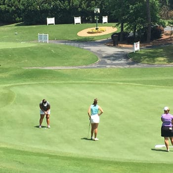 Sera Tadokoro competes at the Callaway Golf Junior Classic
