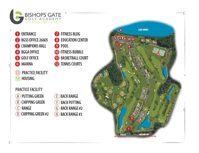 BGGA Facilities junior golf academy