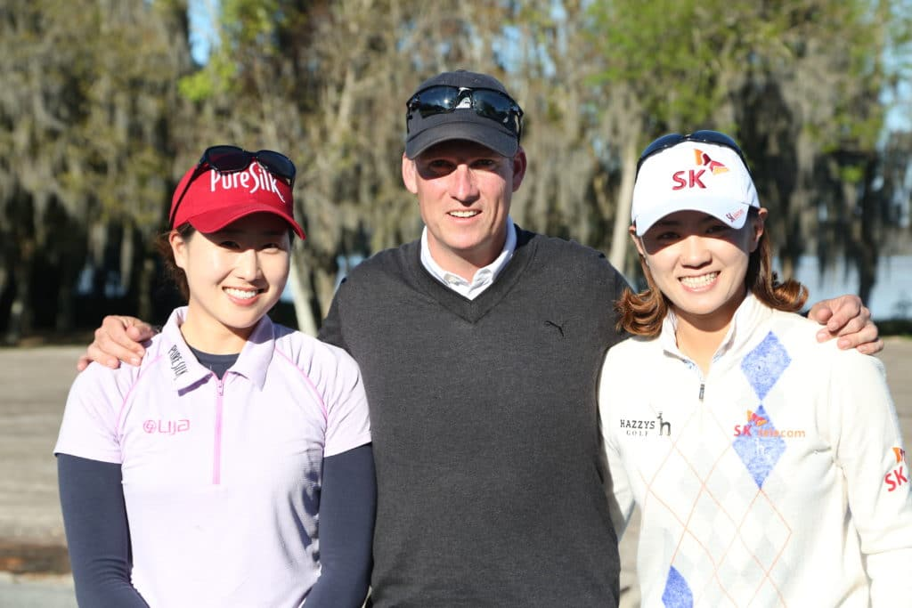 Jennifer Song and Na Yeon Choi golf academy training kevin smeltz