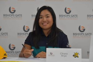 junior golf academy college signing