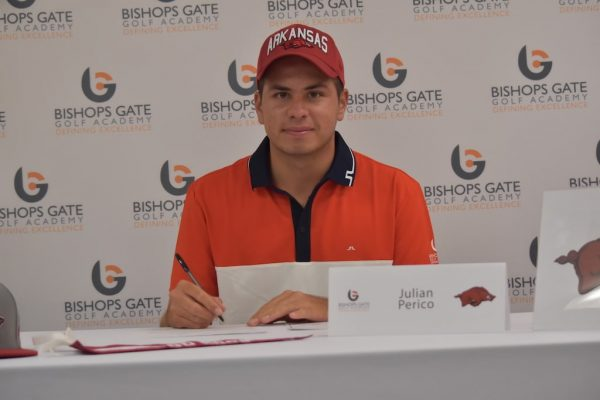 junior golf academy college signing julian perico